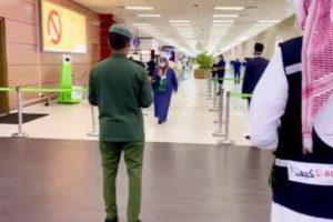 مغادرة معتمري تركيا عبر مطار الملك عبدالعزيز