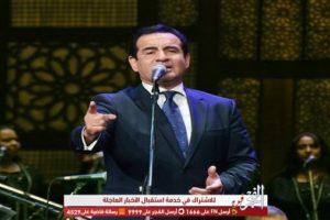 لأول مرة.. محمد ثروت يكشف تفاصيل أكبر حفل بدون جمهور ليلة النصف من شعبان