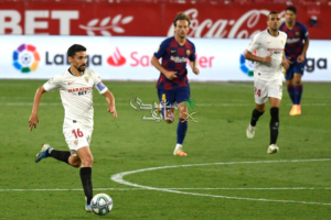 برشلونة يسقط في فخ إشبيلية ويفقد نقطتين في سباق الليجا