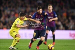 موعد مباراة برشلونة وفياريال في الدوري الإسباني